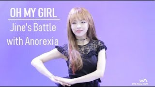 Oh My Girl - Jine's Battle with Anorexia 2015 - 2017