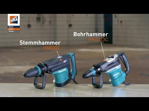 Makita Stemmhammer HM1213C & Bohrhammer HR4013C im Einsatz | Produktfilm in 4K | HKL BAUSHOP
