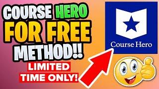 course hero unlock step by step  Guranteed working easy way