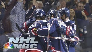 NHL Stanley Cup Playoffs 2019: Bruins vs. Blue Jackets | Game 3 Highlights | NBC Sports