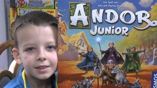 Andor Junior von Kosmos ab 7 Jahre - tolles Abenteuerspiel für die ganze Familie!