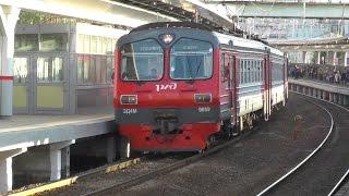 Электропоезд ЭД4М-0059 станция Фили