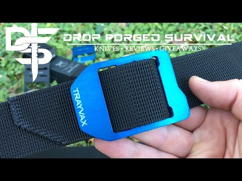 TRAYVAX CINCH | EDC Belt | Full Test & Review
