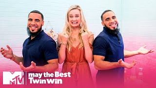 Three-Way Twin Date Gets Weird | May the Best Twin Win | MTV