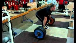Gerd Kanter - 1 Pull + 1 Clean 140kg - 2010