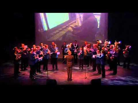 Harmonie Gaudete in Domino bij Cultuurprijs gemeente Cuijk