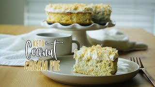Coconut Cream Pie | Low Carb Pie Recipe