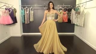 Strapless Chiffon Prom Dress 88240 | Jovani