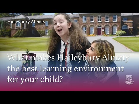 A parent discusses the benefits of the senior school