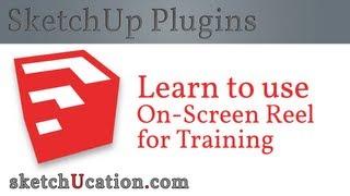 SketchUp Plugin Tutorial   OnScreen Rolling Reel