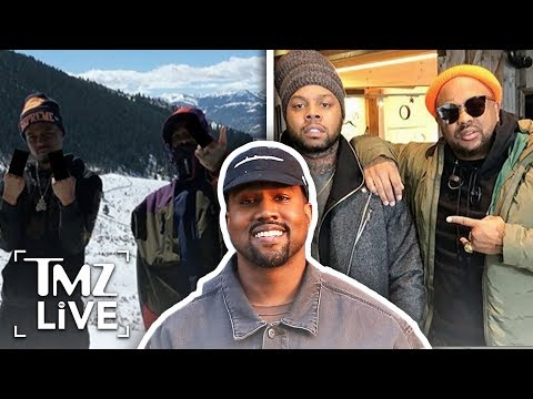 [TMZ] Kanye West Escapes To The Mountains!