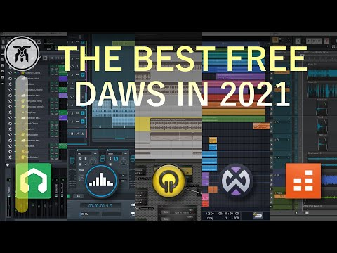 Best Free DAWs [Free Software to Make Music] (2021)