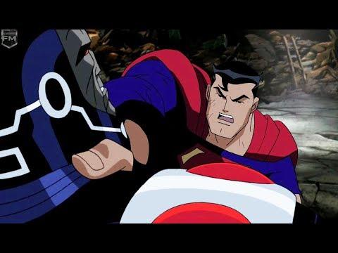 Superman & Batman vs Darkseid | Justice league Unlimited