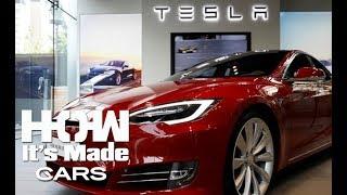 Tesla Electric Motor & Car - How It's Made Supercar (Car Documentary)