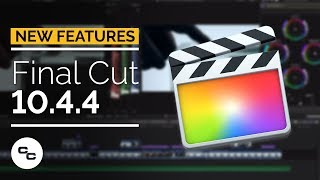 Final Cut Pro X 10.4.4 Demo - Noise Reduction, Caption Burn In, and More