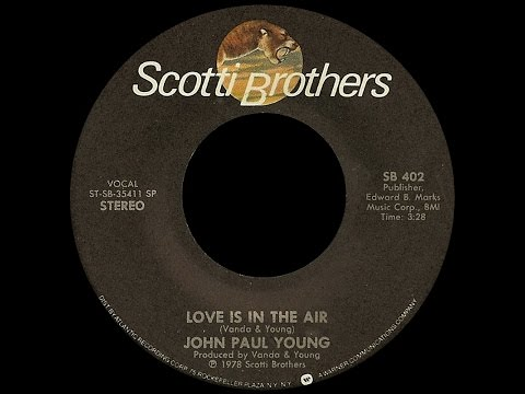 John Paul Young ~ Love Is In The Air 1978 Disco Purrfection Version