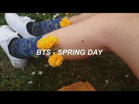 BTS (방탄소년단) 'Spring Day' (봄날) (Brit Rock Remix) Easy Lyrics