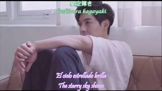 Kim Hyun Joong 김현중 キム・ヒョンジュン  -  Paradise (Lyrics in sub eng/sub español + japanese + romanization)