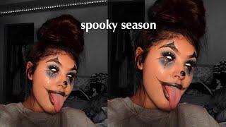 Glam Clown Halloween Makeup Tutorial 🤡