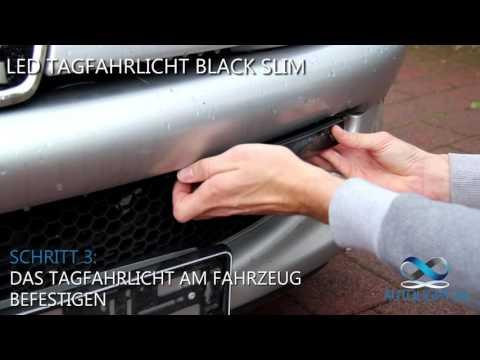 LED Tagfahrlicht Black Slim von AutoLight24