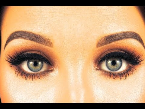 How to fill in eyebrows so that they look nice and not ...