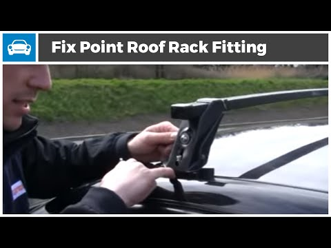 Fix Point Roof Rack fitting Demonstration
