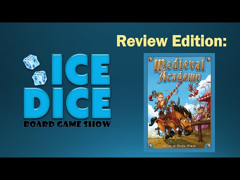 Ice Dice BGS: Medieval Academy Review