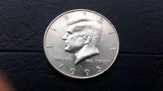 Coins :USA Half Dollar 1995 D Coin aka Fifty-cent Piece orKennedy half dollar