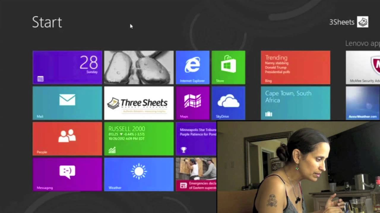 Watch A Drunk Person Try Windows 8 For The First Time
