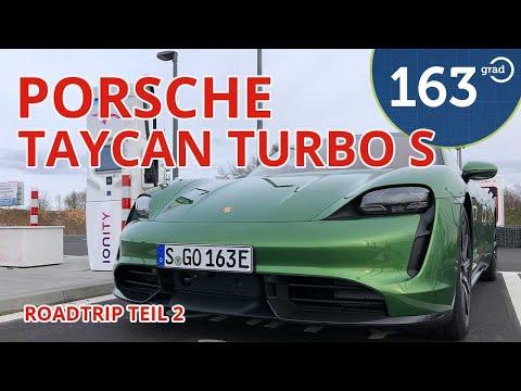 Porsche Taycan Turbo S Autobahn Roadtrip | Teil 2 | Charging Planer und Range Mode