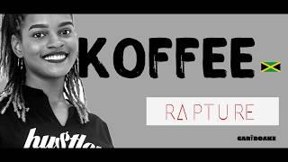 Koffee   Rapture (Reggae Lyrics Provided By Cariboake The Official Karaoke Event)