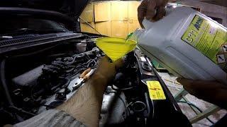 Замена антифриза. Промывка системы охлаждения двигателя