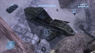 Halo 3 - Secret Crashed Pelican On The Ark (REVISITED)