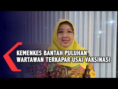 Ini Klarifikasi dr. Siti Nadia Tarmizi soal Wartawan Sakit usai Vaksinasi Covid-19