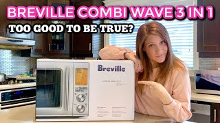 Breville Combi Wave 3 in 1 (Microwave, Air Fryer & Oven) - Unboxing & First Impressions
