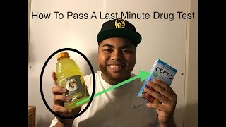 "How To Pass A Drug Test Last Minute! (WORKS) ""CHECK DESCRIPTION"""