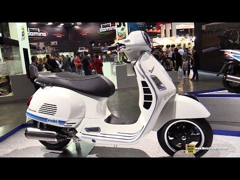 2015 Polini Vespa GTS 300 - Walkaround - 2014 EICMA Milan Motorcycle Exhibition