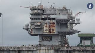 Tour of U.S. Navy's Norfolk Naval Station and Shipyards - May 2019