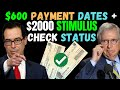 HOW TO TRACK YOUR $600 Stimulus Payment - IRS Stimulus & SHOCKING $2000 Second Stimulus Check Update