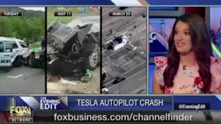 Fox Business Network: Tesla in Autopilot Crashes into Parked Police Car in California