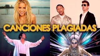 PLAGIOS MUSICALES FAMOSOS - CANCIONES PLAGIADAS - SHAKIRA BLURRED LINES MADONNA  | IT'S MUSIC SERCH