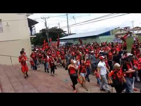 """""""Dia del Liguismo - 94 aniversario LDA"""" Barra: La 12 • Club: Alajuelense • País: Costa Rica"""