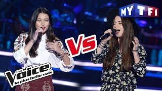 Claire Gautier VS Lou Mai   « Lost On You » (LP) | The Voice France 2017 | Battle