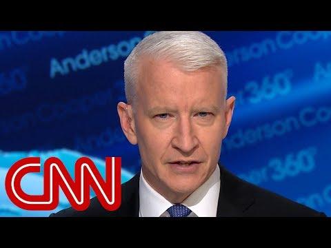 Cooper challenges Trump's 'least racist' claim