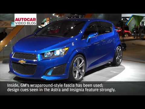 Detroit Motor Show: Chevrolet Aveo RS by autocar.co.uk
