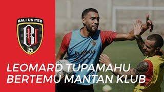 Pemain Bali United Leonard Tupamahu Senang Kembali Bertemu Mantan Klubnya