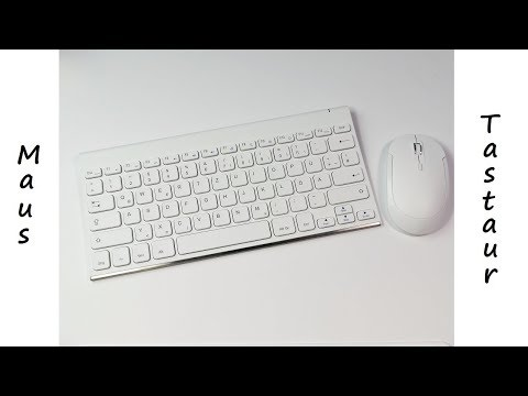 Solides & kompaktes Maus - Tastatur Set von JellyComb im Test - Review - Deutsch