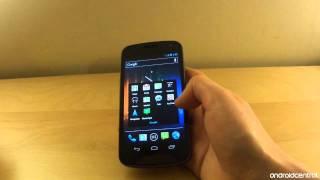 Samsung Galaxy Nexus retail walkthrough
