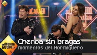 """Chenoa: """"Pilar Rubio me ha aconsejado que me quite las bragas"""" - El Hormiguero 3.0"""