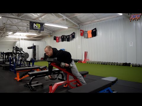 Chest Supported DB Row With Opposite Iso Hold - THIRSTgym.com